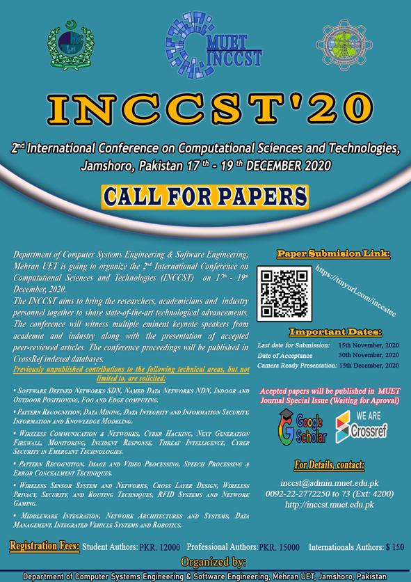 INCCST Flyer